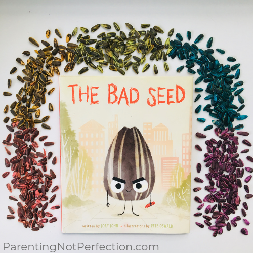 The Bad Seed & Neon Colored Sunflower Seeds