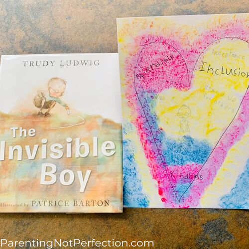 """The Invisible Boy"" and hidden surprise painting"