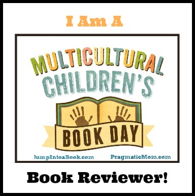 I am a Multicultural Children's Book Day Book reviewer logo