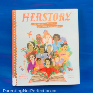 """Herstory"" gives great information on 50 women and girls who are an important part of women's history"