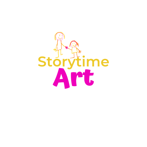 story time art graphic